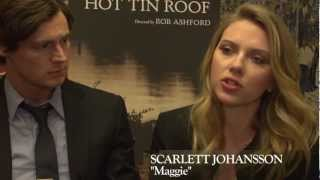 First look at Broadway's CAT ON A HOT TIN ROOF with Scarlett Johansson