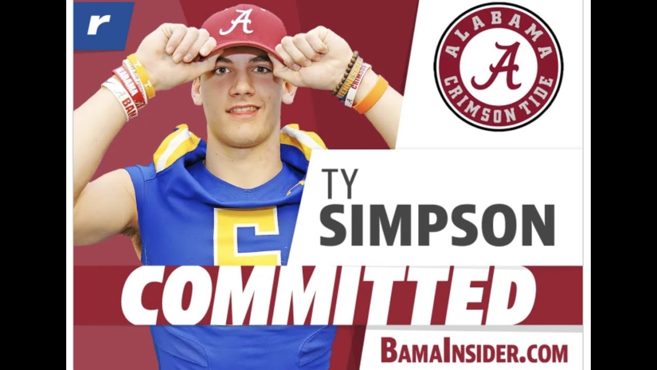 Ty Simpson commits to Alabama | Nick Saban lands his class of 2022 quarterback | SEC News