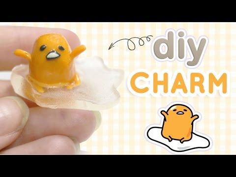 DIY Gudetama Figurine | DIY Miniature Clay and Resin Tutorial