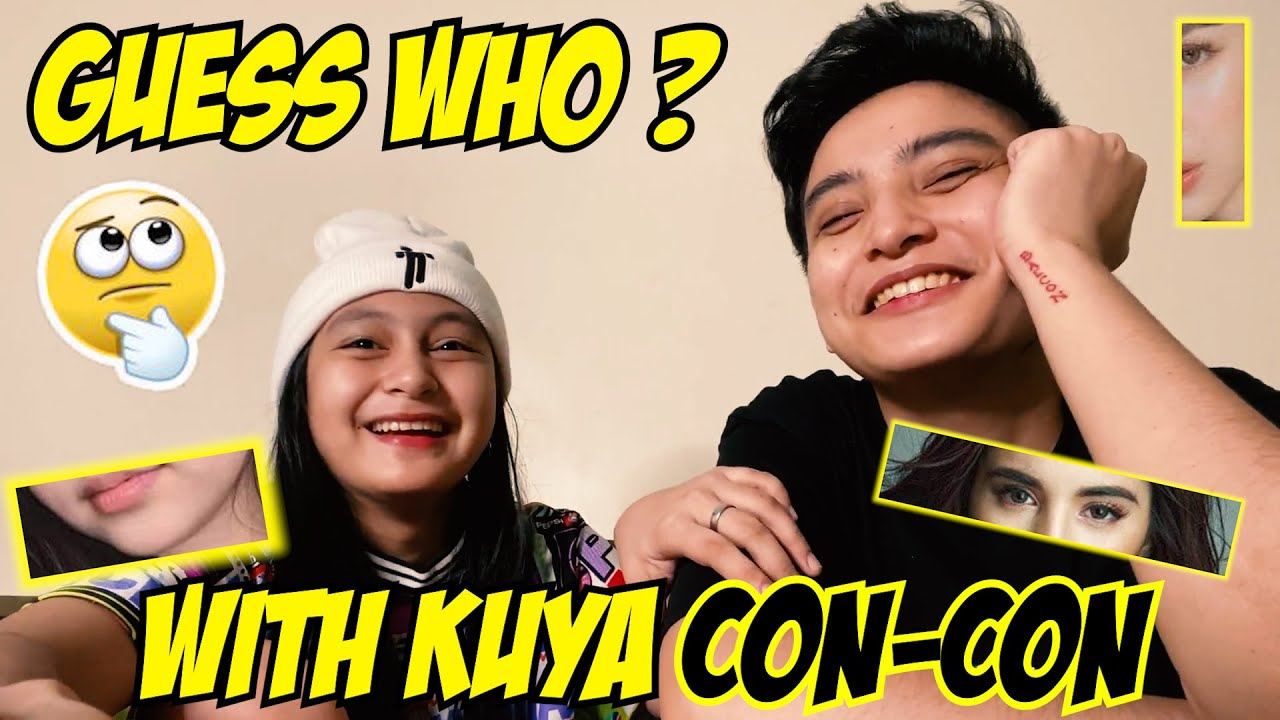 GUESS WHO WITH KUYA CONCON FELIX | PRINCESS THEA