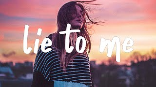 Tate McRae & Ali Gatie - lie to me (Lyrics)
