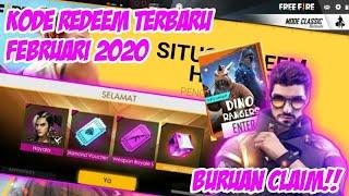 BURUAN CLAIM!! 18 KODE REDEEM FREE FIRE TERBARU FEBRUARI 2020 - GARENA FREE FIRE INDONESIA