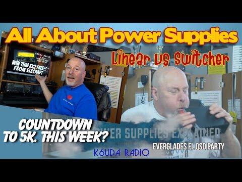 Power Supplies Explained - K6UDA Radio Episode 35