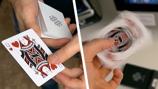 Card From Nowhere - Card Trick Tutorial | TheRussianGenius thumbnail