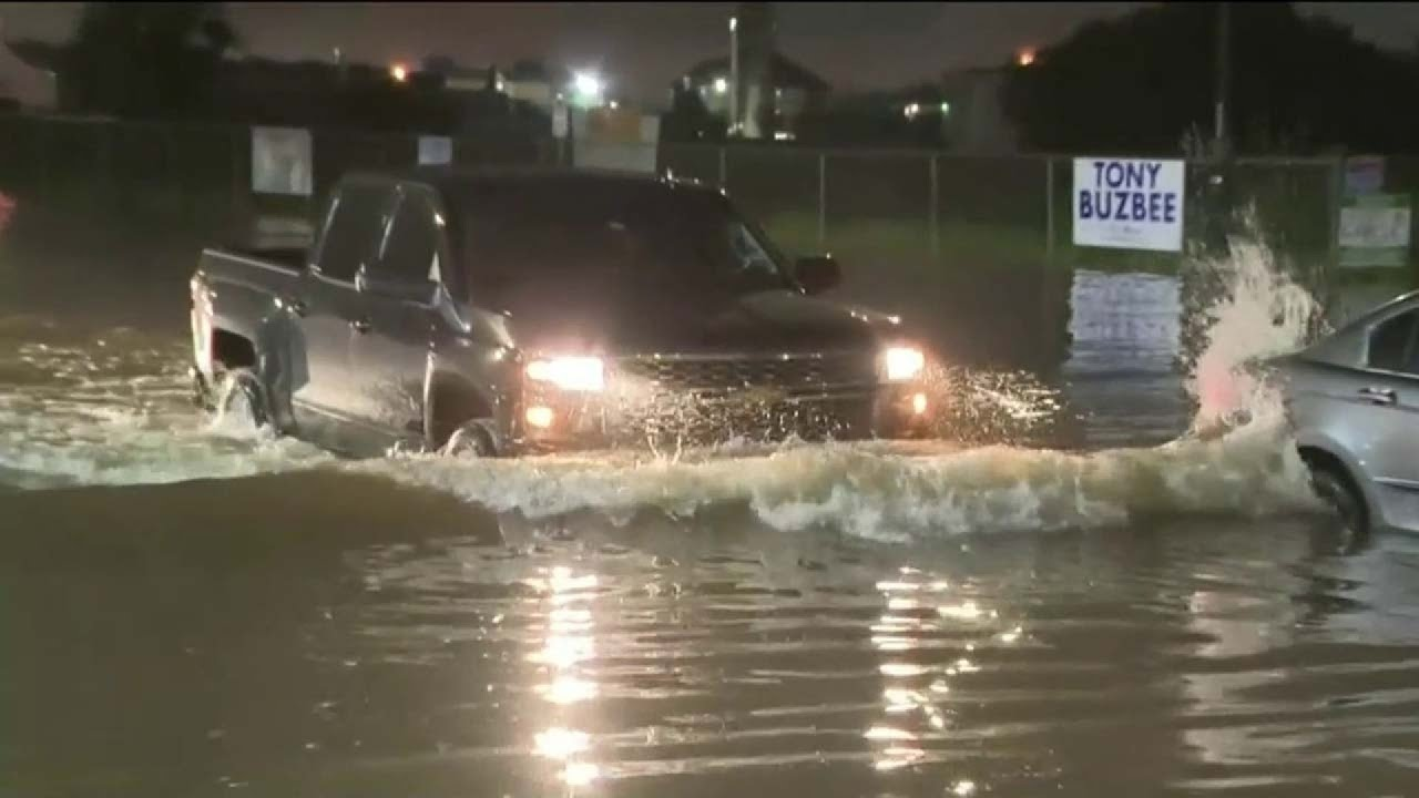 Floodwaters begin slowly receding near Houston after Imelda brings deadly flooding
