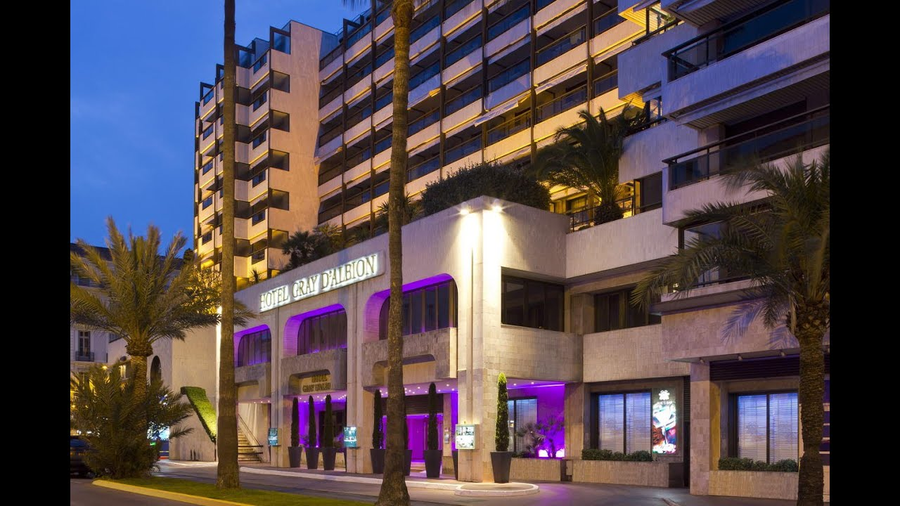 H tel gray d 39 albion barri re cannes youtube for Hotels barriere