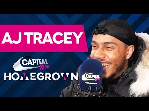 AJ Tracey On Being &39;The Most Versatile Artist&39; & More  Homegrown  Capital XTRA