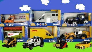 Police Cars Jeep - Play with Bruder Toys Vehicles