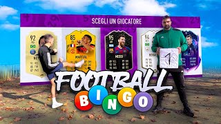 ⚽🥅 FOOTBALL BINGO CHALLENGE! vs TATINO! FOOTBALL vs FIFA 20!