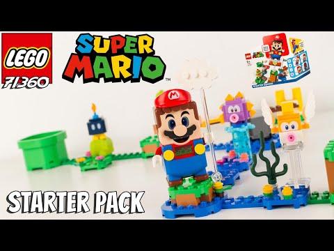 LEGO SUPER MARIO Le Pack de démarrage 71360 Les Aventures de Mario Starter Pack