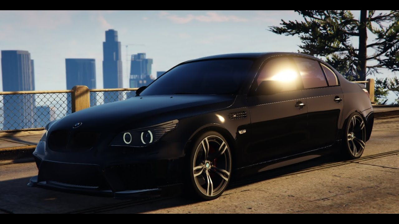 Gta V Bmw M5 E60 2009 Real Life Car Mod Youtube