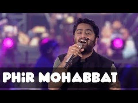 Phir Mohabbat Live | Arijit Singh | MTV...