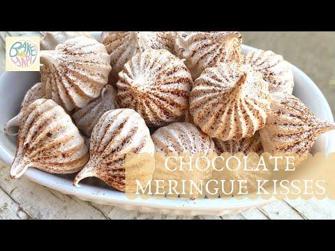 Chocolate Meringue KissesRecipe | BakeWithYapi