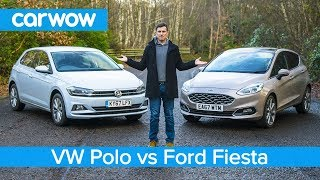 Volkswagen Polo 2019 vs Ford Fiesta 2019 - see which is the best small car! | carwow