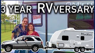 Three Years of RV Life with our Winnebago Micro Minnie 1706fb - Roadtrip America