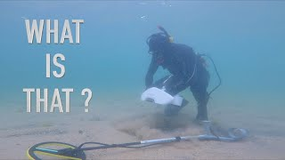 Underwater Metal Detecting in (Deadly Dust Storm) Found GOLD (UNBELIEVABLE NICK THOUGHT)