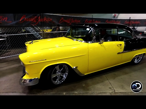 How Much Will This Sweet '55 Chevy Sell For At Auction? | Fast N' Loud