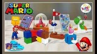 2018 McDonald's Super Mario Happy Meal Toys Nintendo (set of 8) | fastfoodTOYcollection