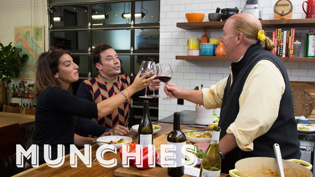 Moltissimo: Mario Cooks for Jimmy Fallon & Mary Guiliani