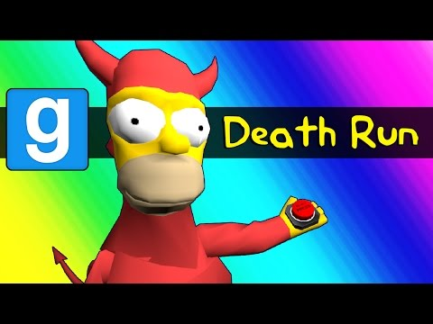Thumbnail: Gmod Deathrun - Homer Simpson Tryouts Parody (Garry's Mod Funny Moments)