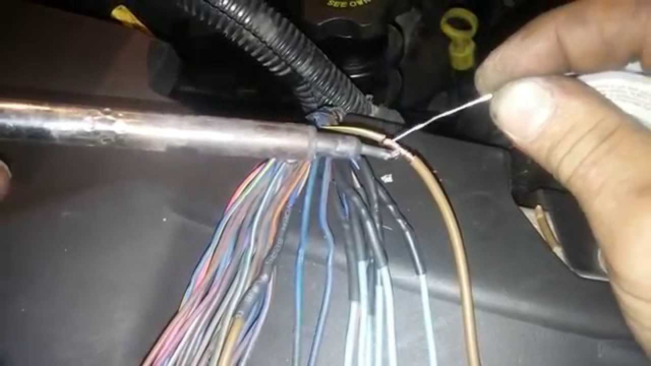 medium resolution of 04 chrysler pacifica cylinder 4 misfire shorted pcm harness bad coil control driver youtube