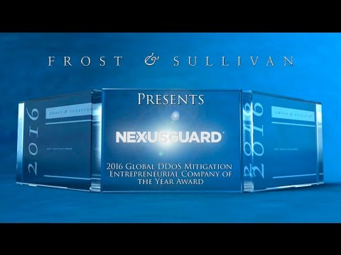 Nexusguard Selected Global DDoS Mitigation Entrepreneurial Company of the Year