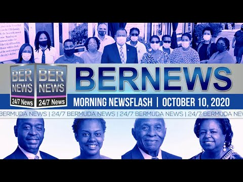 Bermuda Newsflash For Saturday, Oct 10, 2020
