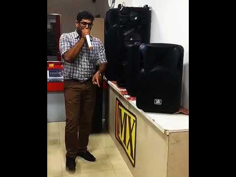 Beat Box Anna (Raku) Testing MX Trolley Speaker
