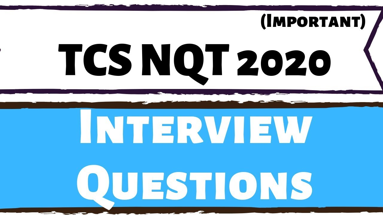 Updated) TCS Technical Interview Questions for Freshers 2018