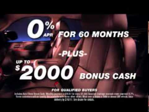 Auto Show Bonus Cash Back!