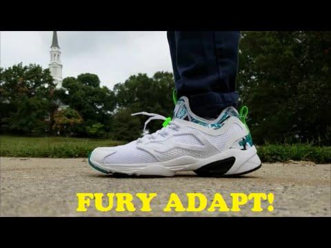 永仔 Reebok Fury Adapt SAMPLE COLORWAY On Foot - YouTube e551797a3