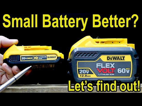 "Smaller ""TOOL"" Battery"