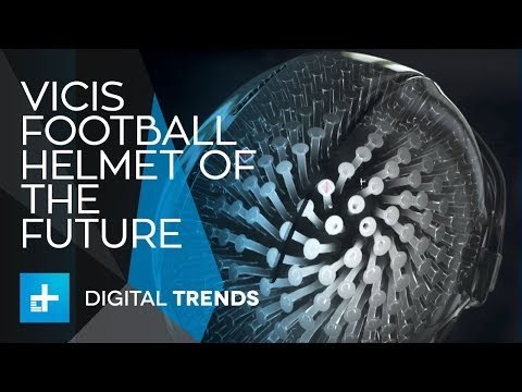 Vicis Creates The Football Helmet Of The Future