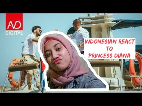 Ledri Vula ft. Lyrical Son - Princess Diana | INDONESIA REACTION
