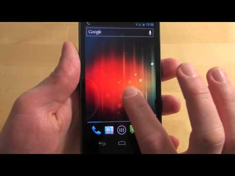 Samsung Galaxy Nexus - Handy Text - Review - Deutsch