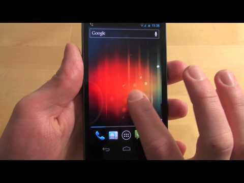 Samsung Galaxy Nexus - Handy Text - Review - Deutsch