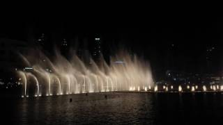 Dancing Fountain at Dubai Mall