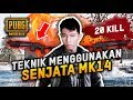 MK14 SENJATA OVER POWER BUAT NGERUSH - PUBG MOBILE INDONESIA