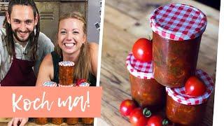 Megaleckere Tomatensoße mit Paprika | Koch ma!