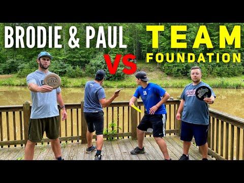 Brodie Smith & Paul McBeth Vs. Team Foundation Battle (Brand New Course)