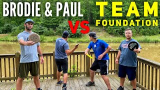 Brodie Smith & Paul McBeth vs. Team Foundation Battle (Brand New Course)