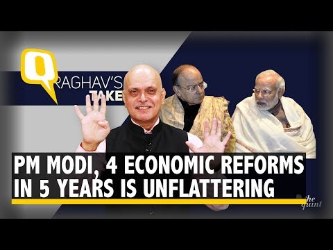 Modi 1.0: Five Unflattering Years With Only Four Economic Reforms   The Quint