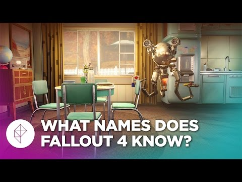 Does Fallout 4's Codsworth Know How to Say Your Name?