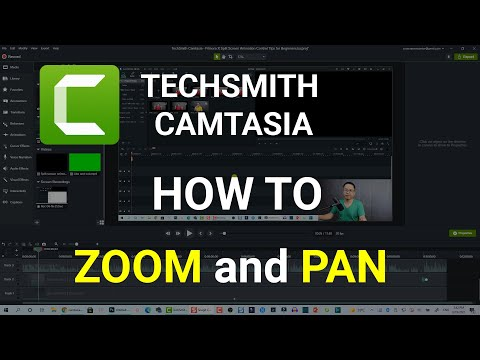 How to Add Zoom and Pan Animation Effect - Camtasia 2019 Tutorial