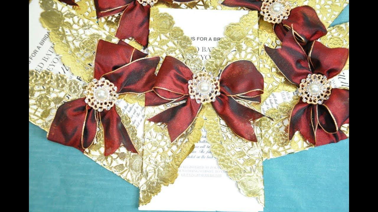 Dollar Tree Diy 1 Elegant Wedding Bridal Shower