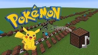 Minecraft: Pokemon Theme - Gotta Catch 'em all with Note Blocks