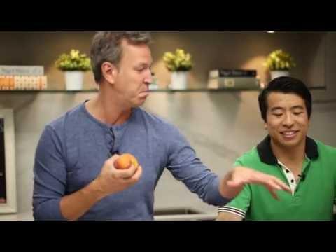 Ricardo Prepares An Upside Down Peach Cobbler
