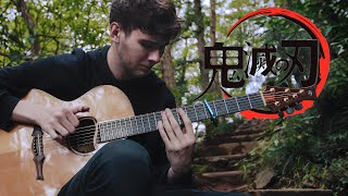 Download lagu Gurenge - LiSA - Demon Slayer: Kimetsu no Yaiba OP - Fingerstyle Guitar Cover