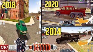 Evolution Of Body Roll & Suspension Logics In OviLex Driving School Simulator Games (2014 - 2020) screenshot 1