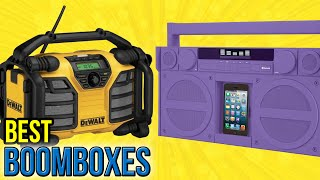 10 Best Boomboxes 2016